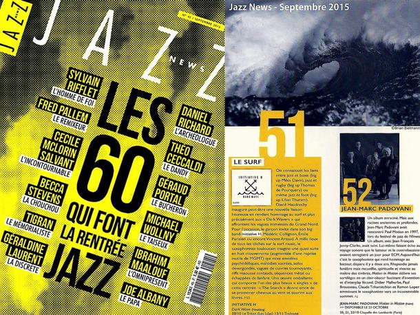 INITIATIVE H dans Jazz News :