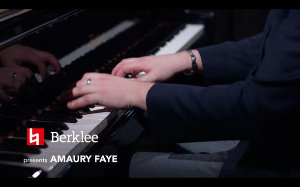 Nouvelle video: Amaury Faye Solo Piano